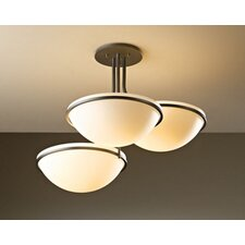 Moonband 3 Light Semi-Flush Mount