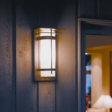 Banded 1 Light Outdoor Wall Sconce