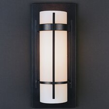 1 Light Banded with Bars Wall Sconce
