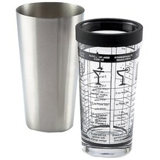 Boston Shaker with Recipes