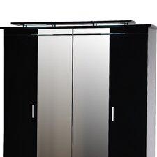 Moon 38 N°F2 Option LIGHT for 4 Door Wardrobe