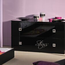 Strass N°22 Rhinestone 2 Drawer Chest