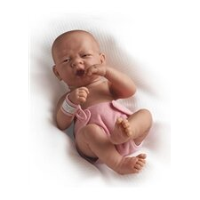 "La Newborn - 14"" Anatomically Real Girl Vinyl Doll"