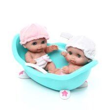 <strong>JC Toys</strong> Lil' Cutesies with Bathtub Doll