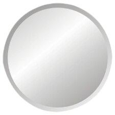 Regency Round Frameless Wall Mirror