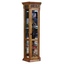 Sedona Cant Curio Cabinet