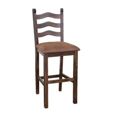"Santa Fe 30"" Barstool with Cushion"