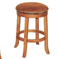 "Sedona 24"" Swivel Bar Stool with Cushion"