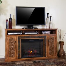"""Sedona 66"""" TV Stand with Electric Fireplace"""