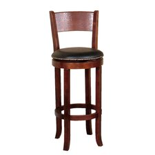 "Cappuccino 30"" Swivel Bar Stool"