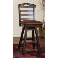 "Santa Fe 30"" Swivel Barstool with Cushion"