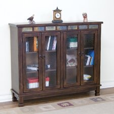 Santa Fe Four Door Bookcase
