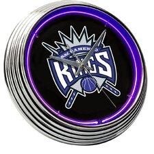 "NBA 15"" Neon Wall Clock"