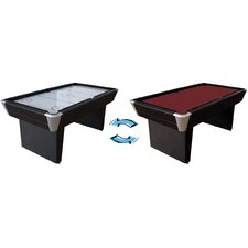 2-in-1 Air Hockey/Pool Table