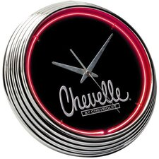 "<strong>On The Edge Marketing</strong> Chevrolet 14.75"" Chevelle Neon Wall Clock"