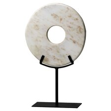 Large Disk on Stand Figurine