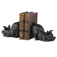 Piggy Book Ends (Set of 2)