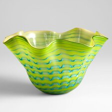 Large Glasgow Bowl in Green and Blue