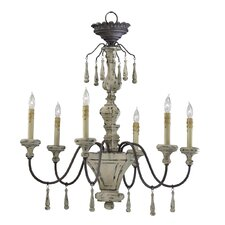 <strong>Cyan Design</strong> Provence 6 Light Chandelier
