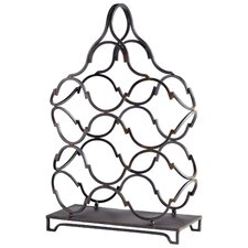 Waving 6 Bottle Tabletop Wine Rack