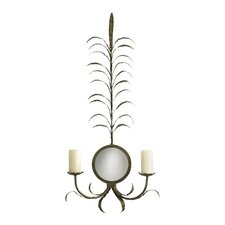 Wrought Iron Pluma Candelabra