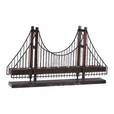 Iron Bridge Candle Holder