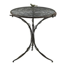 Bird Bistro Table in Muted Rust