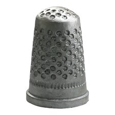 Sewing Thimble Token in Pewter