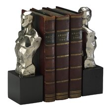 Hercules Bookends in Chrome