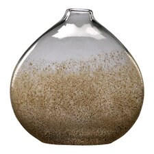 Medium Vase in Russet and Gold Dust