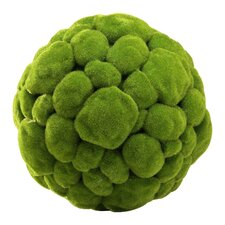 Large Moss Sphere in Moss Green