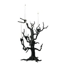 Iron Tree Table Candelabra