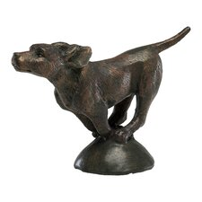 Running Dog Figurine
