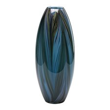 <strong>Cyan Design</strong> Peacock Feather Vase