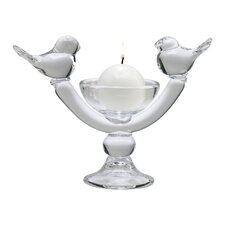 Glass Uccelli Votive