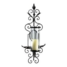 Iron and Glass Sonoma Wall Sconce