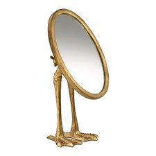 Duck Leg Mirror in Gold