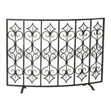 Casablanca Iron Fireplace Screen