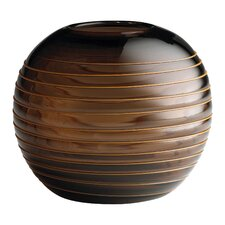 Medium Round Vesper Vase in Brown
