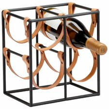 Small Brighton 4 Bottle Tabletop Wine Rack