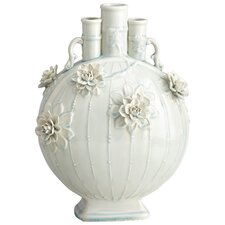 Stout Hardy Lily Vase in Sky Blue Crackle