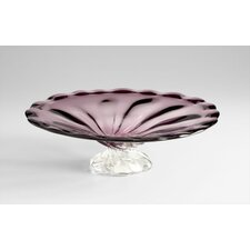 Ice Flower Plate in Purple