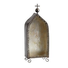 Tall Lourdes Decorative Object in Rustic