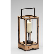 <strong>Cyan Design</strong> Iron and Wood Ranger Lantern