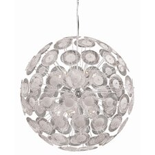 Dandelion 10 Light Globe Pendant