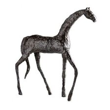 Walking Horse Sculpture in Bronze