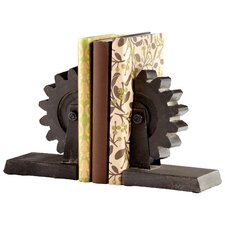 Gear Book Ends