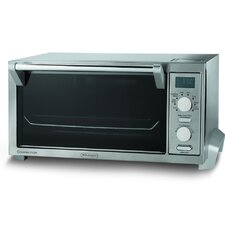 <strong>DeLonghi</strong> 0.5-Cubic Foot Digital Convection Oven