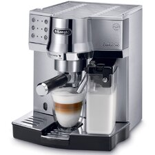 <strong>DeLonghi</strong> 15-Bar Pump Espresso Maker with Automatic Cappuccino System