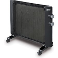 Mica 1,500 Watt Flat Panel Radiator Space Heater with Adjustable Thermostat